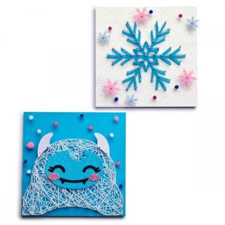 Set creativ - Yeti String Art Kit3