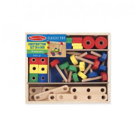 Set de construit din lemn, cu suruburi [1]