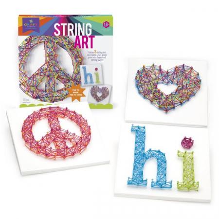Set de creativitate - string art kit3