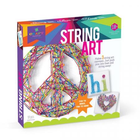 Set de creativitate - string art kit1