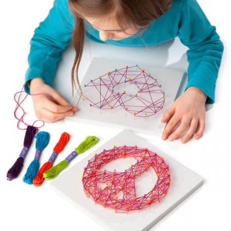 Set de creativitate - string art kit0