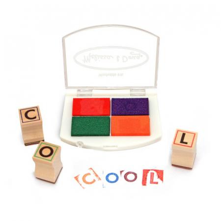 Set de stampile Alfabet1