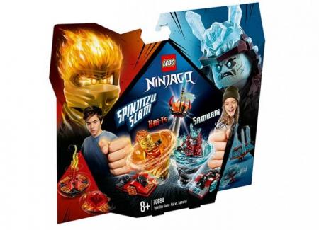Slam Spinjitzu - Kai contra Samurai (70684) LEGO Ninjago0
