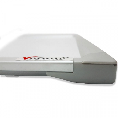 Tabla magnetica alba VISUAL – 100×200 cm2