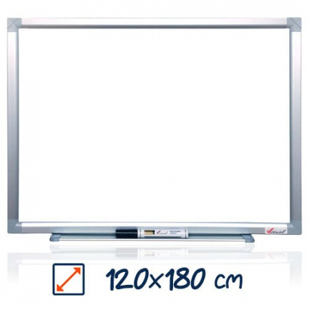 Tabla magnetica alba VISUAL – 120×180 cm0