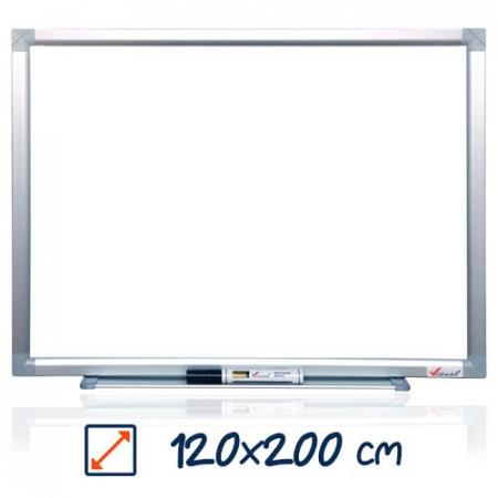 Tabla magnetica alba VISUAL – 120×200 cm0