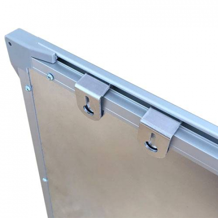 Tabla magnetica alba VISUAL – 120×240 cm4