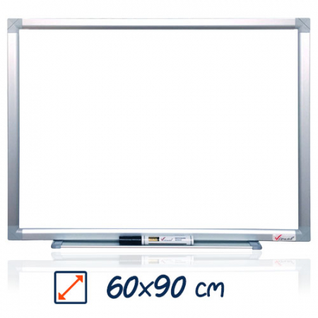 Tabla magnetica alba VISUAL – 60×900