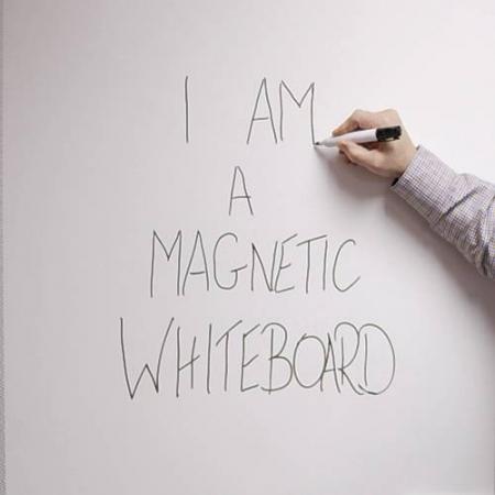 Whiteboard mobil cu 2 fete, 100×150 – VISUAL1