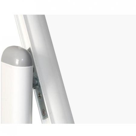 Whiteboard mobil cu 2 fete, 100×150 – VISUAL3