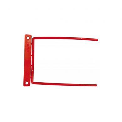 Alonja arhivare insertie metalica D-clip rosie 0