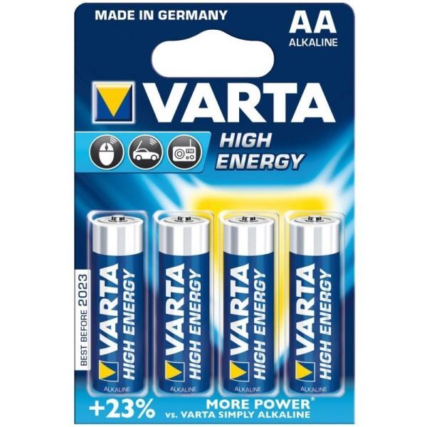 Baterie R6-AA Varta High Energy 4buc/blister [0]