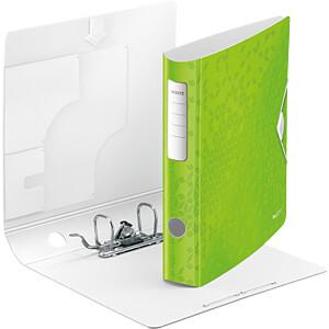 Biblioraft Leitz Active WOW 180°, A4, 50mm, polyfoam, roz metalizat 1
