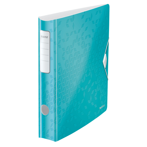 Biblioraft Leitz Active WOW 180°, A4, 50mm, polyfoam, turcoaz metalizat 0