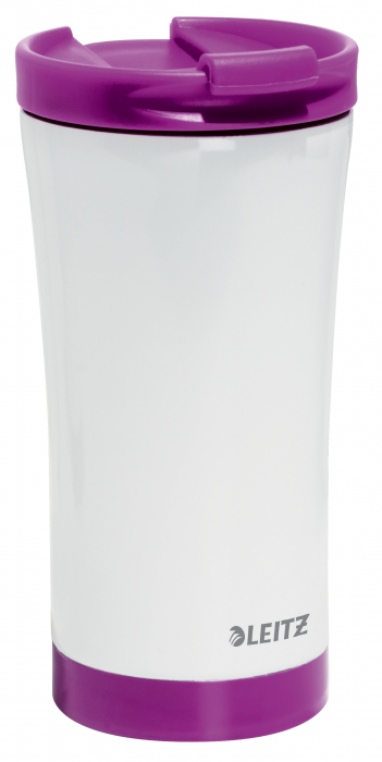 Cana termica Leitz WOW, otel inoxidabil, 380 ml, mov 4