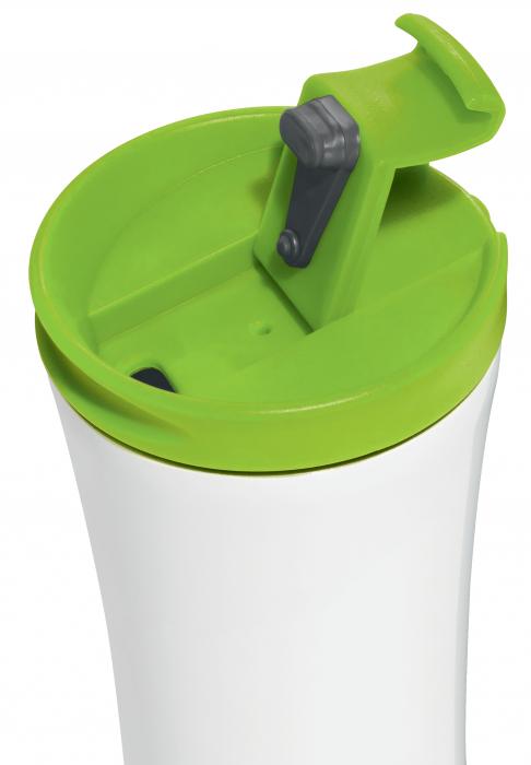 Cana termica Leitz WOW, otel inoxidabil, 380 ml, verde 1