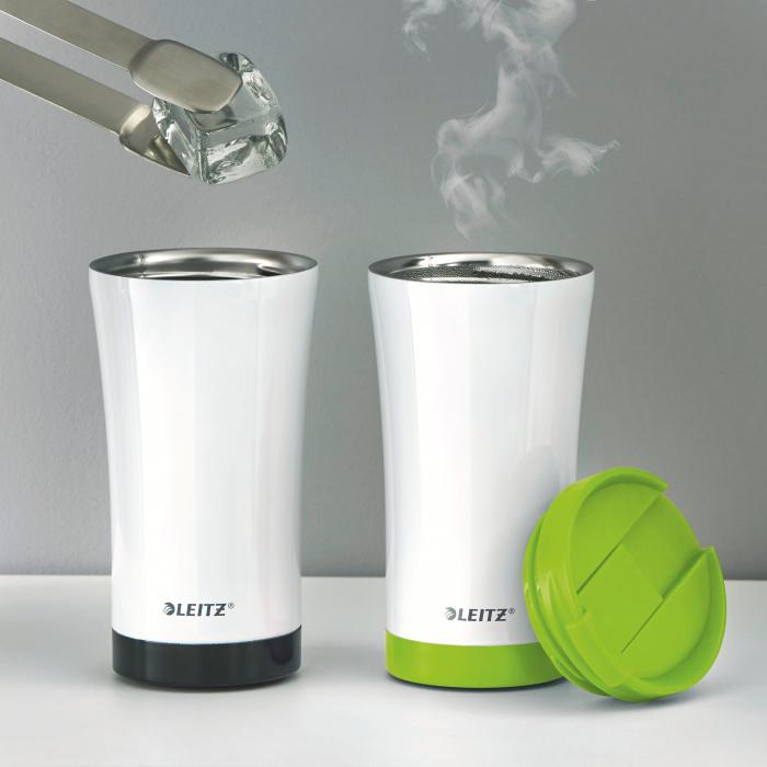 Cana termica Leitz WOW, otel inoxidabil, 380 ml, verde 7