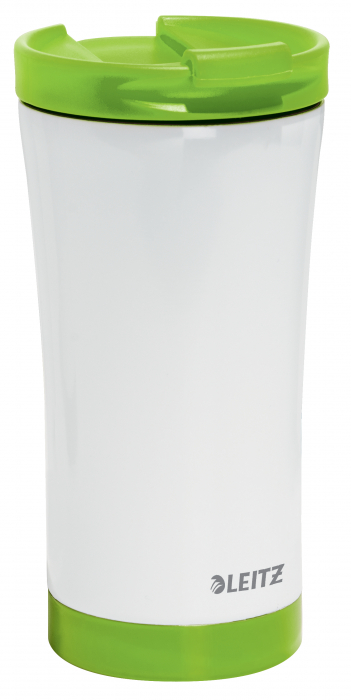 Cana termica Leitz WOW, otel inoxidabil, 380 ml, verde 0