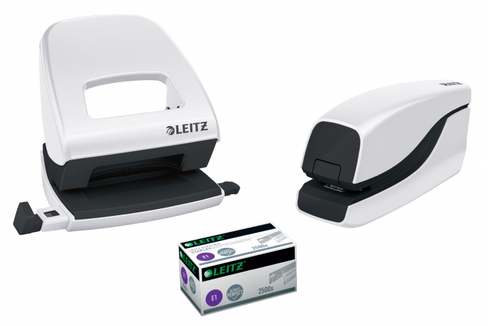 Capsator electric Leitz WOW NeXXt Series, 10 coli, alb 3