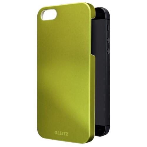 Carcasa pt iPhone 5/5S Leitz Complete WOW  verde metalizat [0]