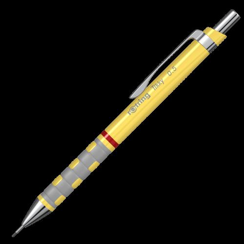 Creion mecanic 0.5mm Rotring Tikky galben [0]