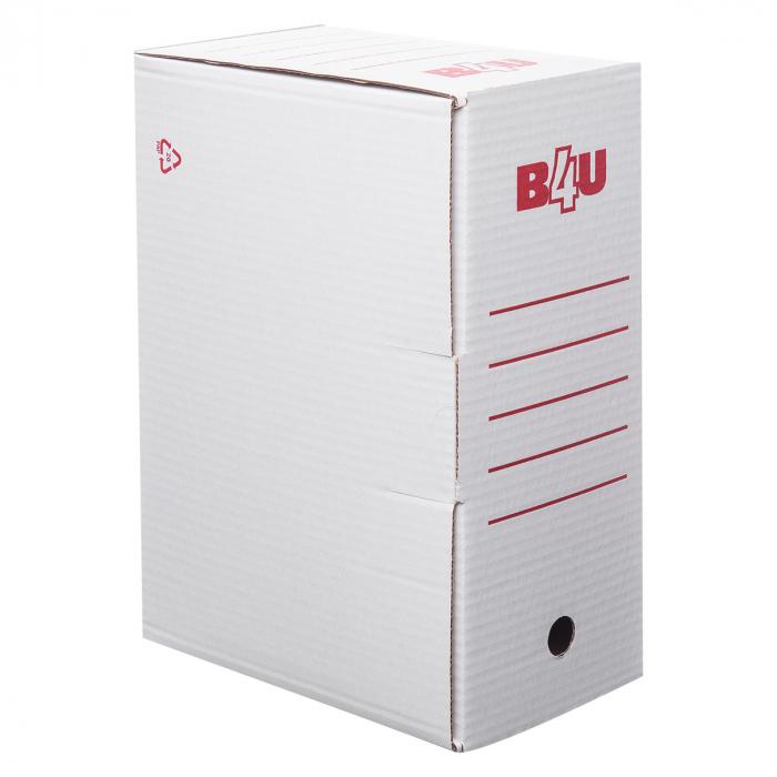 Cutie arhivare 15cm B4U carton alb [0]
