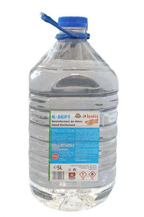 Dezinfectant maini K-SEPT 5L 75% alcool [0]