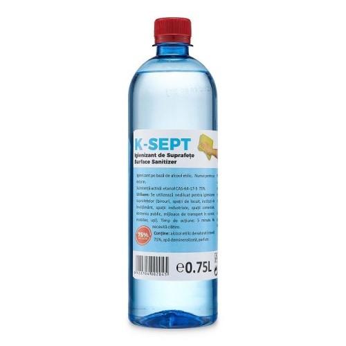 Dezinfectant suprafete K-SEPT, 750ml, 75% alcool [1]