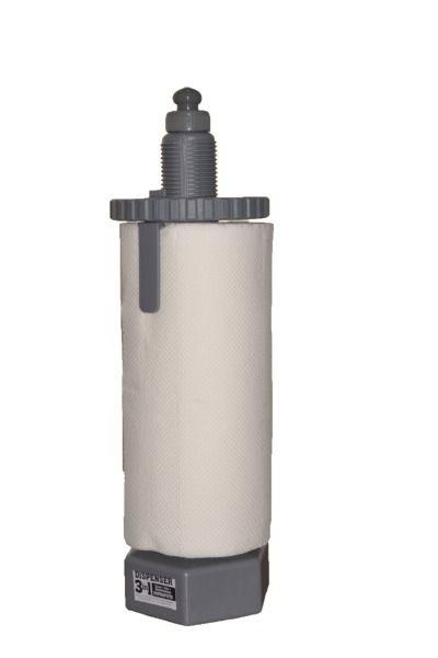 Dispenser 3 in 1 cu dezinfectant suprafete, gri 0