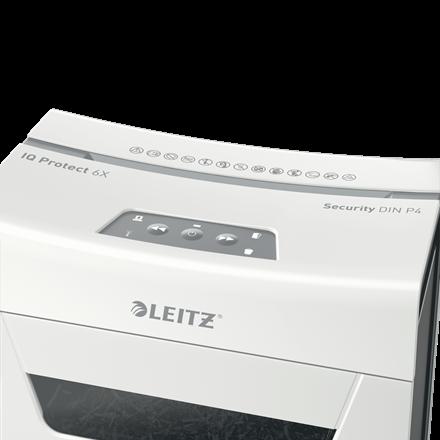 Distrugator documente manual Leitz IQ Protect 6X [4]