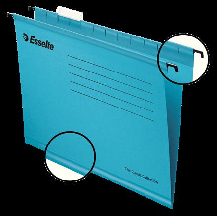 Dosar suspendabil Classic, A4, Esselte Pendaflex albastru 0