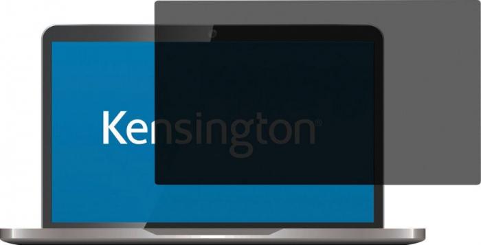 """Filtru de confidentialitate Kensington, 21.0"""", 2 zone, adeziv 0"""