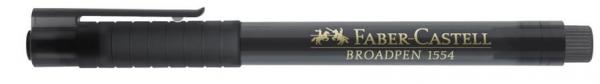 Fineliner Faber-Castell Broadpen 1554 0.8mm, negru [1]