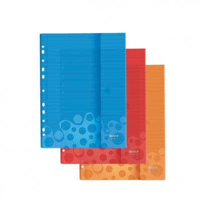 Folie protectie cu arici Leitz Bebop 3 buc. diverse culori 0