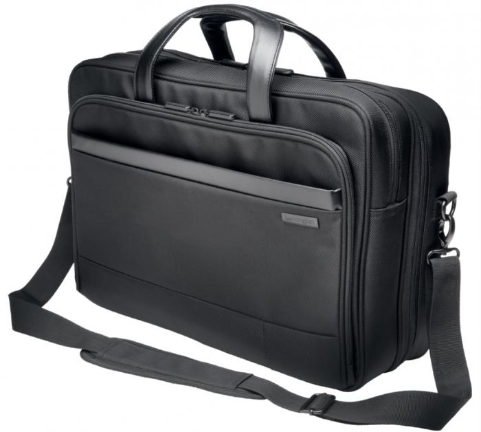 """Geanta Kensington Contour 2.0 Business, pentru laptop de 15.6"""", negru 0"""