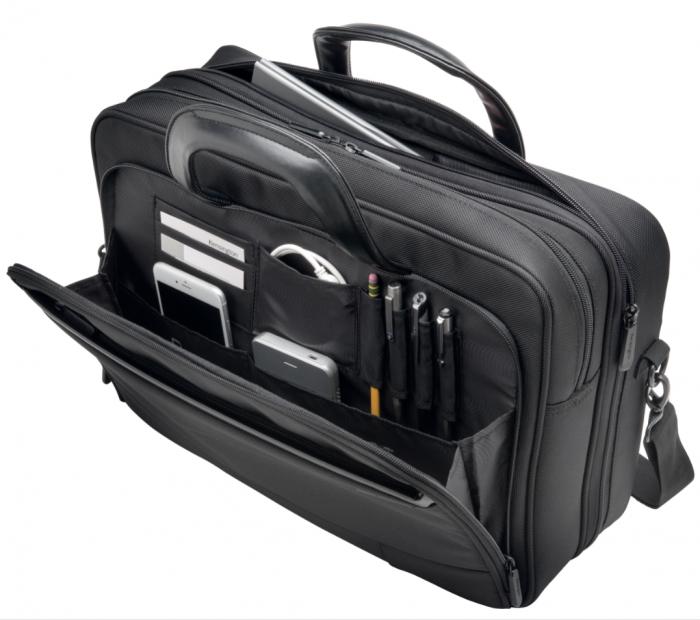 """Geanta Kensington Contour 2.0 Business, pentru laptop de 15.6"""", negru 2"""