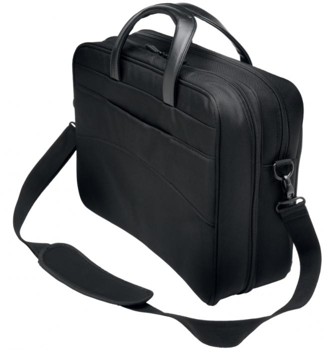"""Geanta Kensington Contour 2.0 Business, pentru laptop de 15.6"""", negru 1"""