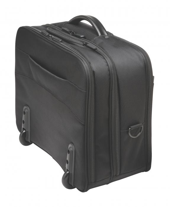 """Geanta Kensington Contour 2.0 Business, pentru laptop de 17"""", 2 rotile, negru 8"""