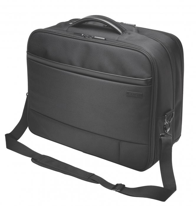 """Geanta Kensington Contour 2.0 Business, pentru laptop de 17"""", 2 rotile, negru 0"""