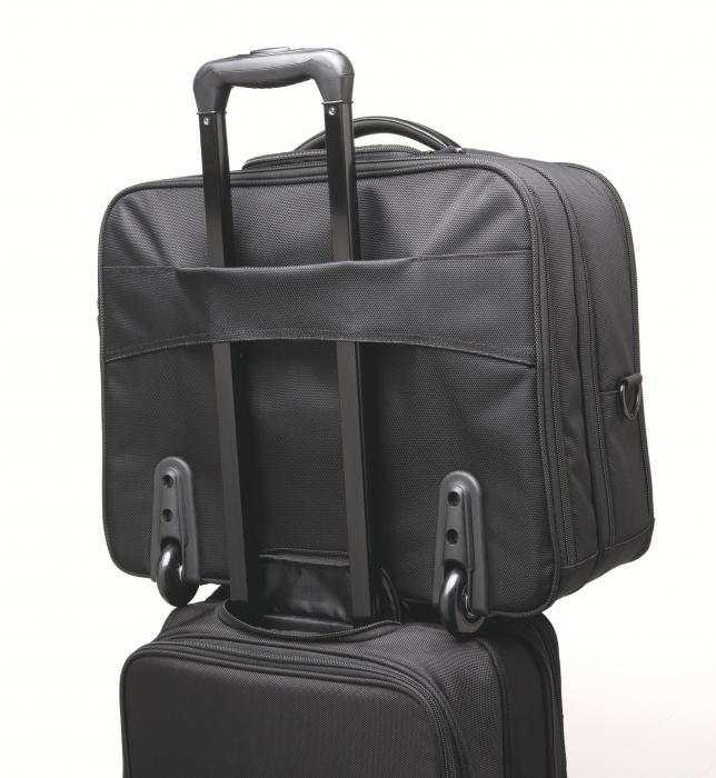"""Geanta Kensington Contour 2.0 Business, pentru laptop de 17"""", 2 rotile, negru 3"""