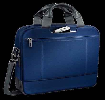 "Geanta Leitz Smart Traveller Laptop 13,3"" albastru-violet 1"