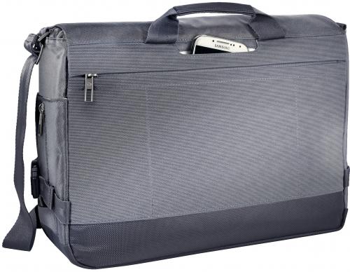 Geanta Messenger Leitz Smart Traveller 15,6'' gri-argintiu 1