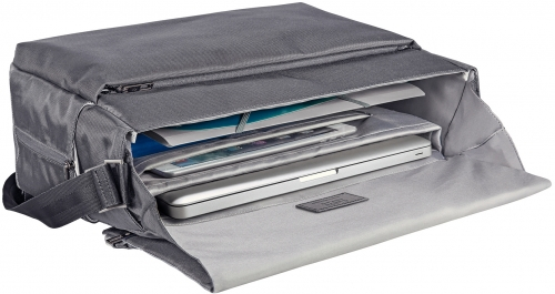 Geanta Messenger Leitz Smart Traveller 15,6'' gri-argintiu 2