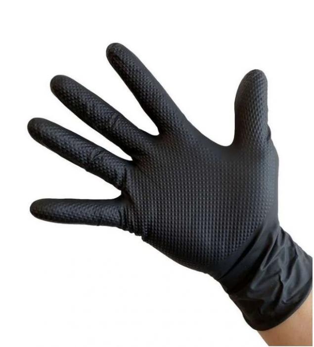 Manusi Nitril Ideall Grip XL, 50 buc. 1