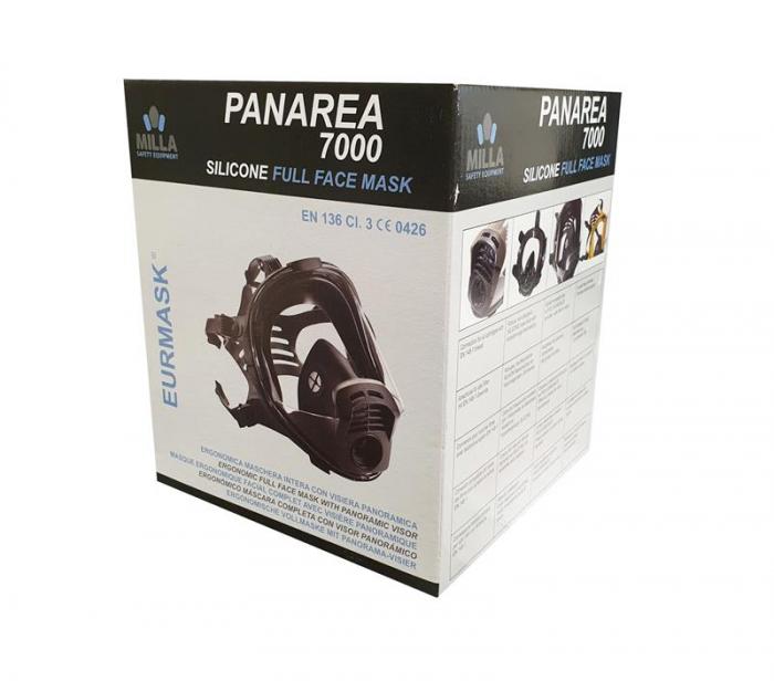 Masca integrala PANAREA 7000 cu 1 filtru, vizor policarbonat [1]