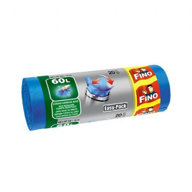 Saci gunoi 60 L 20 buc/rola Fino Easy-Pack 0