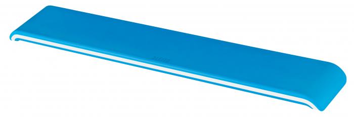 Suport ergonomic incheietura mainii Leitz Ergo WOW pentru tastatura, albastru 0