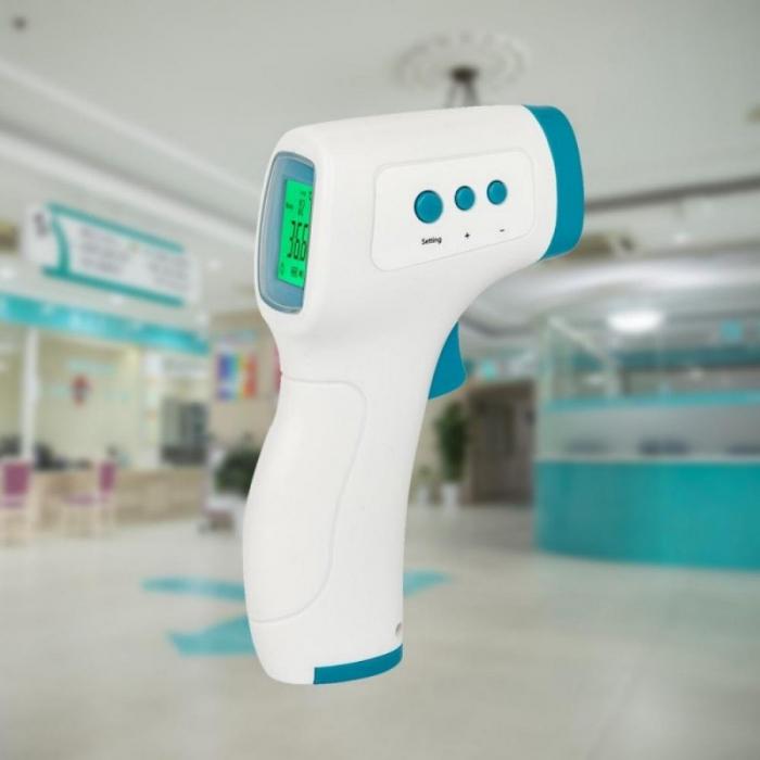 Termometru cu afisaj digital SANBAIFEN, cu infrarosu, contactless [4]