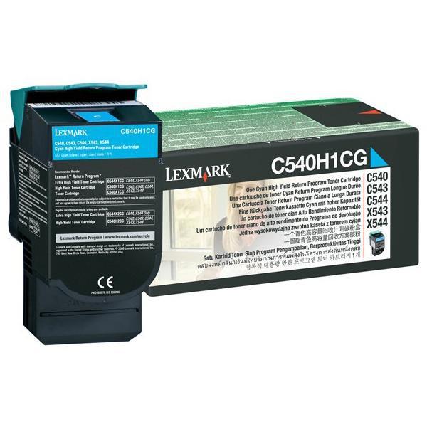 Cartus toner Lexmark C540H1CG cyan 0