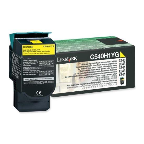 Cartus toner Lexmark C540H1YG galben 0